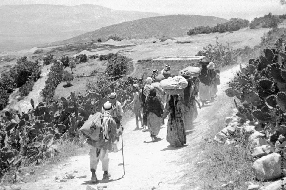 palestinian refugees essay