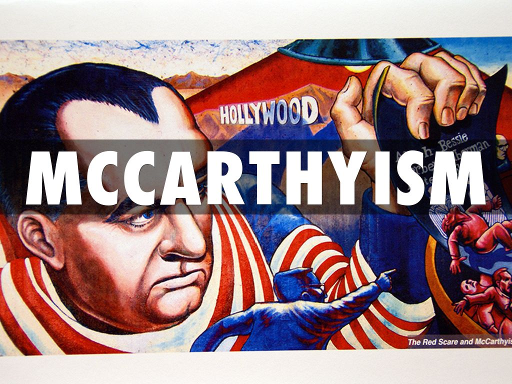 mc carthyism and the media essay Connecting mccarthyism and the crucible essay  americans began to fear that communism was leaking into the media, government, arts, schools, and other areas this was called the red scare (brinkley) one writer that used this era as a basis for his play, the crucible, was arthur miller.